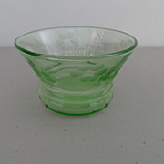 Vintage - Depression Glass - Berry Bowl