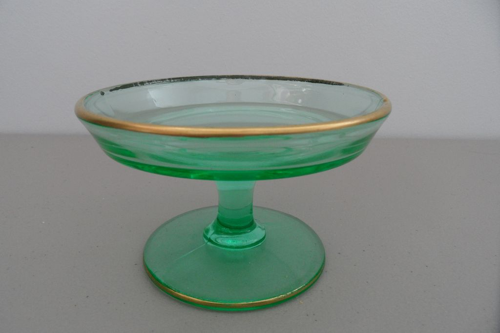 Vintage - Depression Glass - Compote