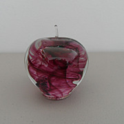 Vintage - Paperweight - Apple - Kerry Glass, Ireland