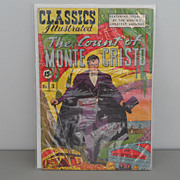 Vintage - Classics Illustrated - Comic Book - The Count of Monte Cristo