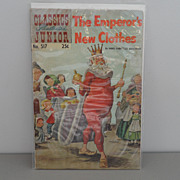 Vintage - Classics Illustrated Junior - Comic Book - The Emperor's New Clothes