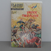 Vintage - Classics Illustrated - Comic Book - Under Two Flags