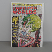 Vintage - Comic Book - Thrills & Mystery