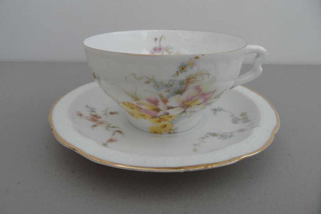 Antique - R C Carmen Bavaria - Tea Cup and Saucer