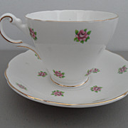 Vintage - Regency English Bone China - Tea Cup and Saucer
