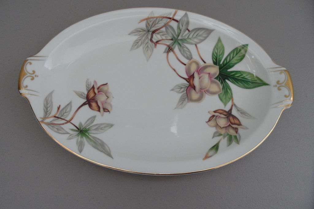 Vintage - Meito China - Woodrose - Platter