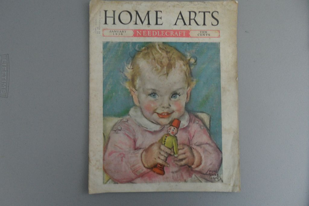 Vintage - Home Arts - Jan 1936