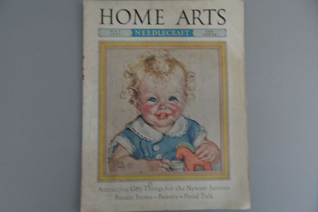 Vintage - Home Arts - May 1937