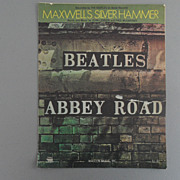 Vintage - Beatles - Abby Road Sheet Music - 1969