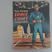 Vintage - 1953 Tom Corbert Space Cadet Coloring Book