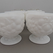 Vintage - Milk Glass - Set of 6