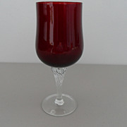Vintage - Ruby Red Glass