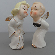 Vintage - Kissing Angels - Figurines - Japan