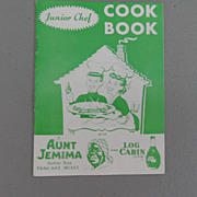 Vintage - Aunt Jemima Cook Book