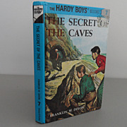 Vintage - Book - The Hardy Boys - The Secret of The Caves