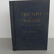 Vintage - Book - Triumph and Tragedy, The Story of the Kennedys