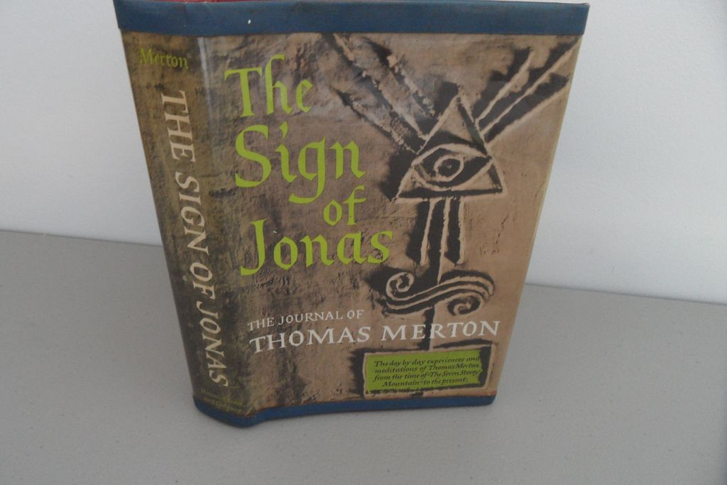 Vintage - Book - The Sign of Jonas, The Journal of Thomas Merton
