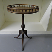 SOLD Round  Pie Table