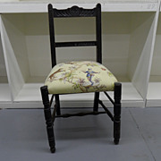 Vintage - Fabric covered Chair