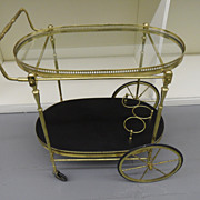 Vintage - Brass Service Cart