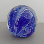 Vintage - Glass Paperweight - Gentile Glass Co.