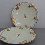 Vintage - Limoges - Plates - Set of Two