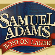 SOLD Vintage - Sam Adams Beer Sign - Metal