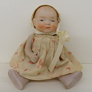 Vintage - Bisque Doll - with Clothes