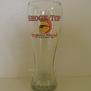 Vintage - Beer Glass - Shock Top 1 Liter