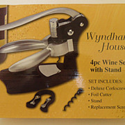 Vintage - Wyndham House 4pc Wine Set