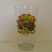 Vintage - Beer Glass - Sierra Nevada Tumbler, Autumn Brown Ale