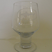 Vintage - Beer Glass - Dogfish Head Beer