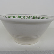 Vintage - Bowl - Harker Pottery