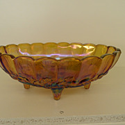 Vintage - Bowl - Carnival Iridescent - Orange