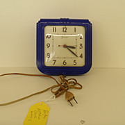 Vintage - The Sessions Clock - Electric - 50's