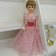 "Vintage - Doll - Vinyl - Darling Debbie 30"" Fashion Doll made in 1957 by Deluxe Reading"