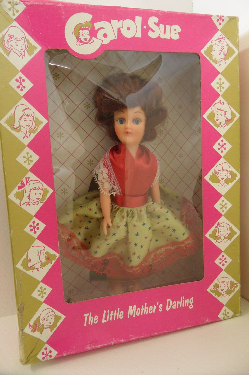 "Vintage - Doll - Carol Sue ""The Little Mother's Darling"", original box"