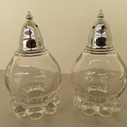 Vintage - Salt and Pepper Shakers - Candlewick