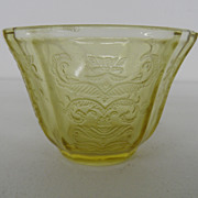 Vintage - Depression Glass - Bowl - Amber