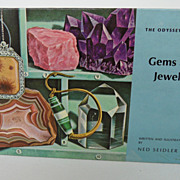 Vintage - Book - Gems and Jewels, by Ned Seidler, 1964