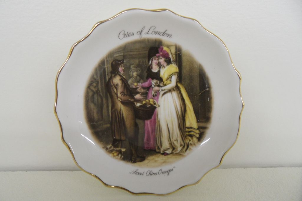 Vintage - Dish - &quot;Cries of London&quot; - 1960's