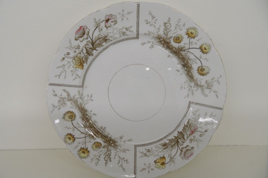 Vintage - Porcelain - Plate - Johnson Bros. - Sylvan