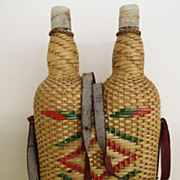 Vintage - Wine Carrier - Wicker