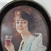 Vintage - 1973 Square reproduction of 1923 Coca Cola Tray