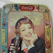 Vintage - 1950's Coca Cola Tray