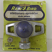 Vintage - Stationary Sprinkler - Rain Bird Model C-300C - NEW!