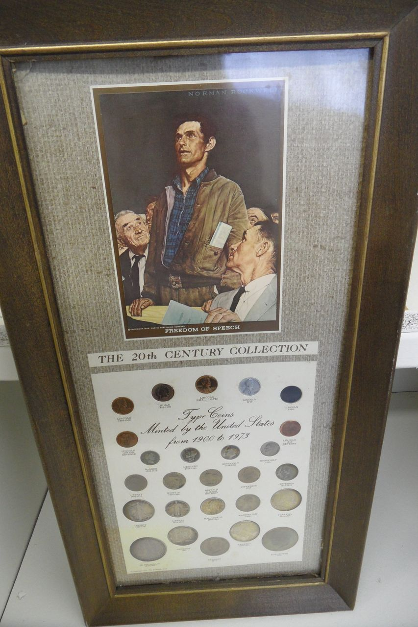 Vintage - Coin Collection - Normal Rockwell's Freedom of Speech - 1900-1973