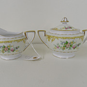 Vintage - Noritake - Creamer and Sugar Set