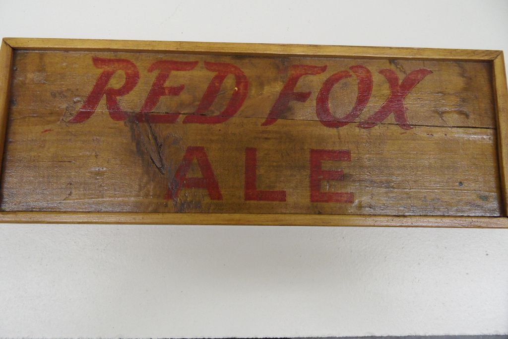 Vintage - Red Fox Ale Logo - Framed
