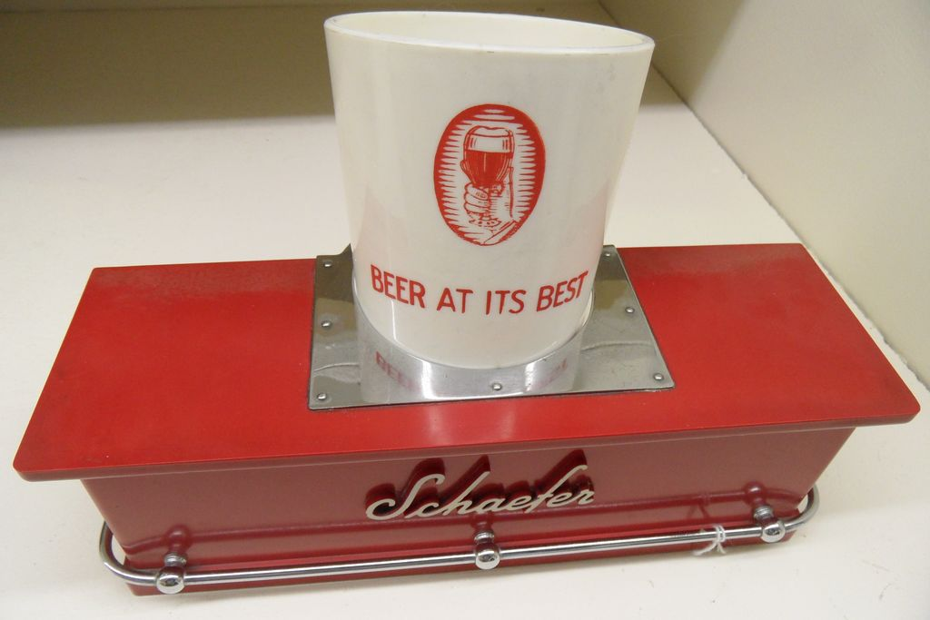 Vintage - Schaefer Scraper Holder w/Cup